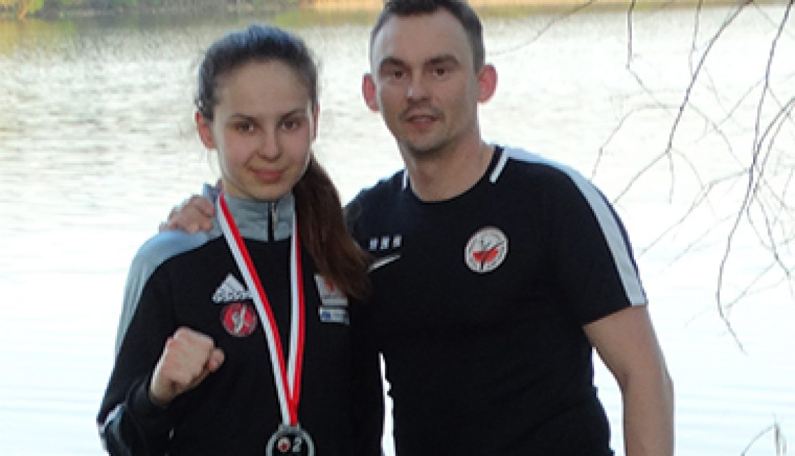 Marcinkowska Matylda z trenerem th