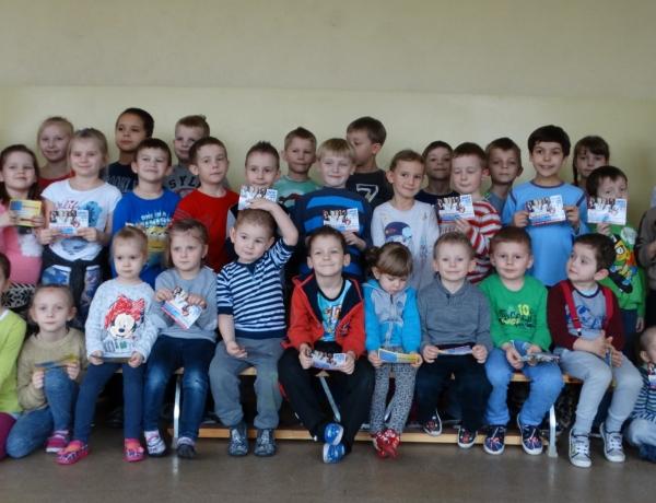 Trening pokazowy w Szkole Podstawowej w Roszkowie