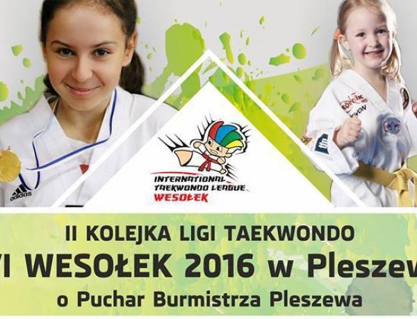 II Kolejka Ligi Taekwondo w Pleszewie