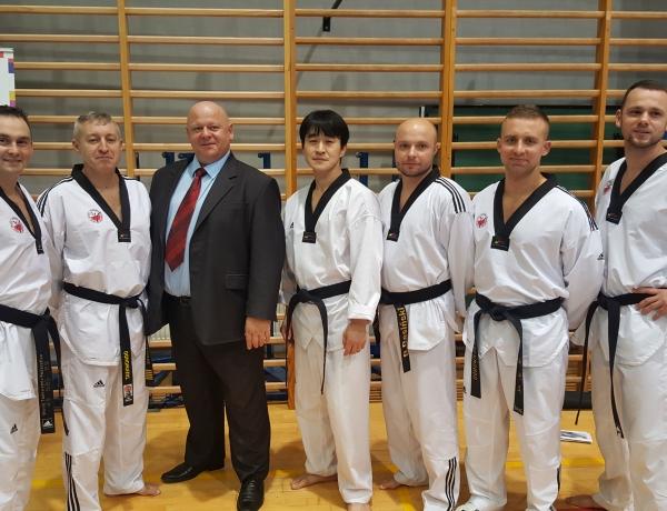 Trenerzy UKS Taekwondo Jarocin wzięli udział w szkoleniu PZTO w Warszawie