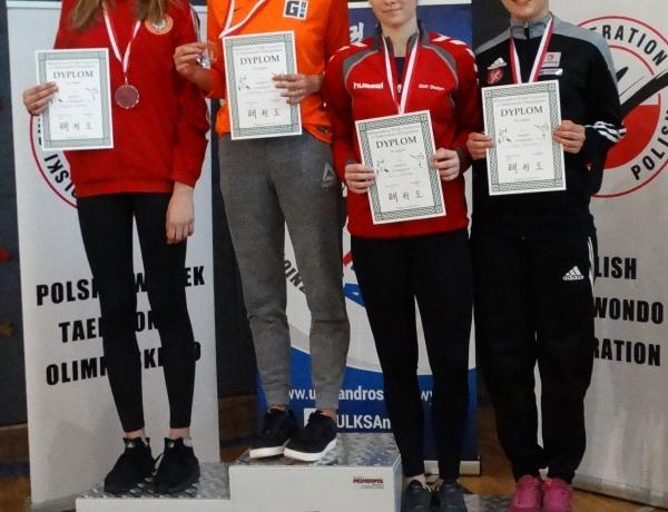 Brąz Olgi Bachorskiej w Młodzieżowych Mistrzostwach Polski