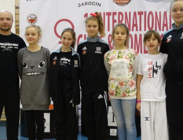 Brązowa drużyna Taekwondo Jarocin