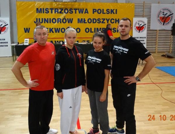 Matylda Marcinkowska w brązie na Mistrzostwach Polski Juniorów