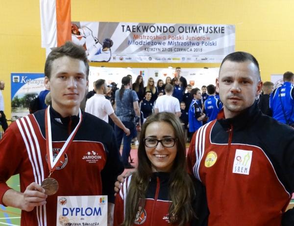 Sebastian Brugger brązowym medalistą Młodzieżowych Mistrzostw Polski