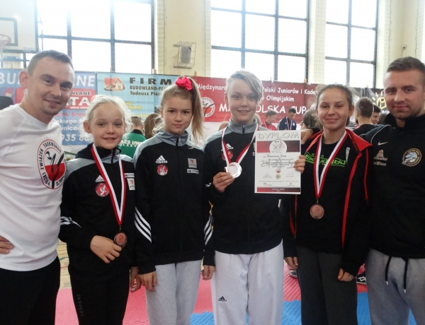 Medale Taekwondo Jarocin w Pucharze Polski
