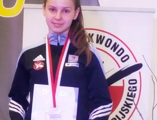 Matylda Marcinkowska – podwójną v-ce Mistrzyni Polski