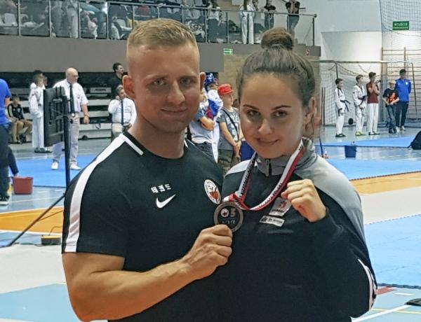 Matylda Marcinkowska w brązie podczas Pucharu Polski w Olecku