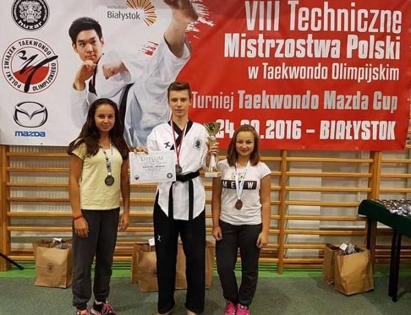 Matylda Marcinkowska v-ce Mistrzynią Technicznych Mistrzostw Polski