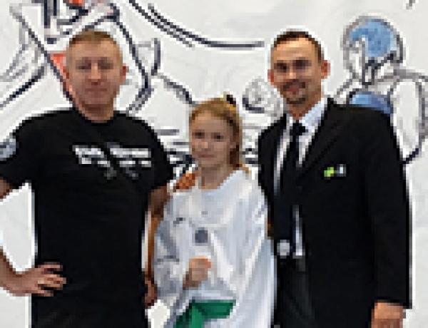 Weronika Smołaga V-ce Mistrzynią Osedon Open