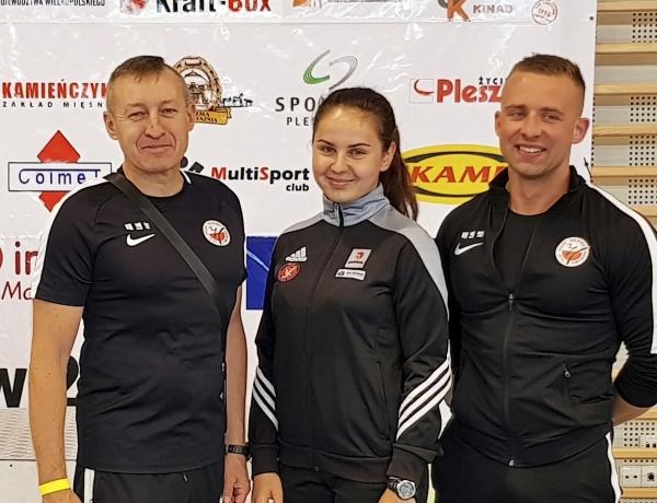 Matylda Marcinkowska V-ce Mistrzem Polski Juniorów 2018 r.